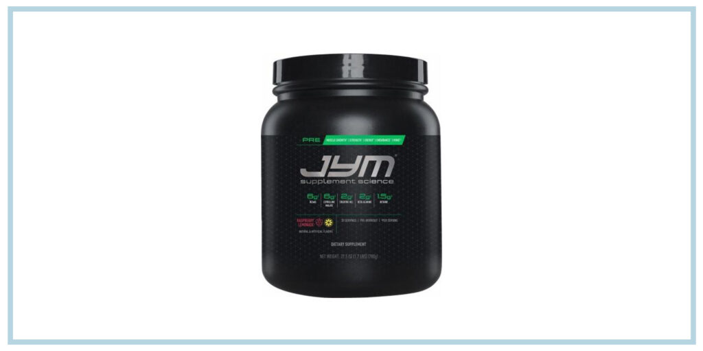 Pre Jym Workout Powder Review